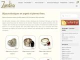 Vente de bijoux argent